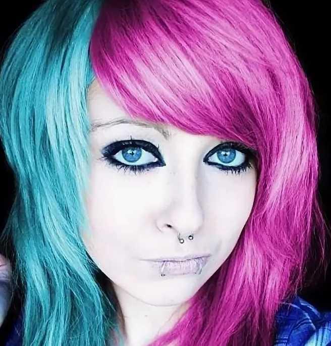 Эмо: макияж и прически представителей яркой субкультуры