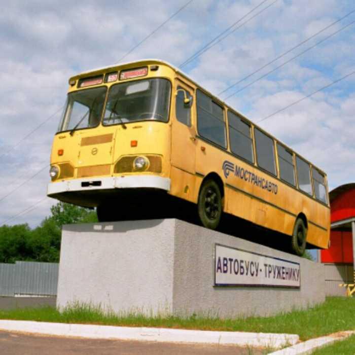 Старые автобусы, доставшиеся нам в наследство от Советской власти