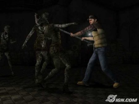 Жуткие и сексуальные медсестры из Silent Hill