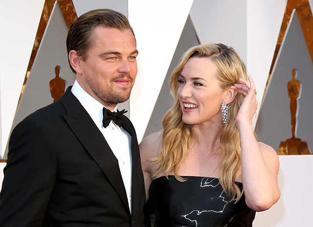 """Леонардо ди Каприо и Кейт Уинслет: немного об отношениях актеров не на борту """"Титаника"""""""