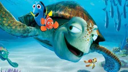 """Морские обитатели: рыбки из мультфильма """"В поисках Немо"""""""