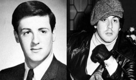 Как выглядел Сильвестр Сталлоне в молодости