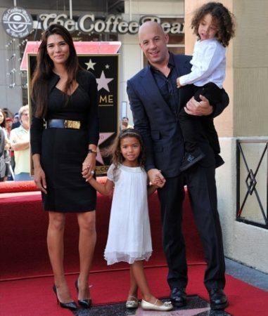 Жена и дети Вина Дизеля