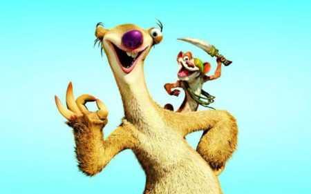 """Ленивец из """"Ледникового периода"""": самый милый и смешной персонаж мультика"""