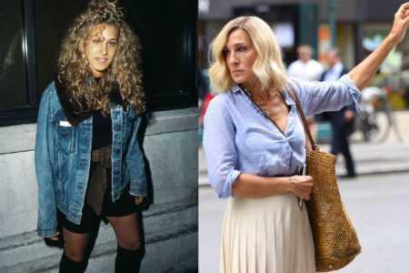 Сара Джессика Паркер в молодости: от шокирующих нарядов до иконы стиля